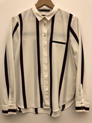 Stylische ZARA Bluse mit Streifen