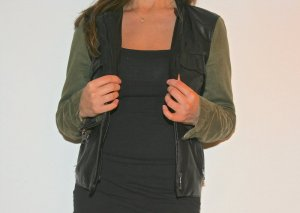 Stylische Zara Lederjacke