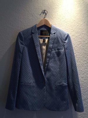 stylischer Blazer in blau