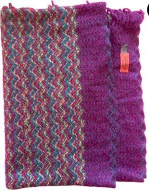 Stylischer bunter MISSONIi Schal für Herbst und Winter