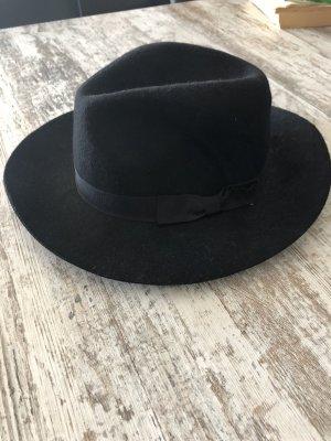 Stradivarius Vilten hoed zwart Vacht
