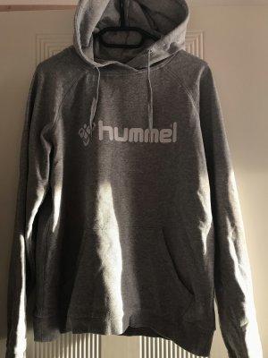 Hummel Maglione con cappuccio grigio chiaro-bianco