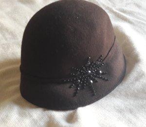 Stylischer Hut aus 100% Wolle