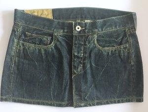 Stylischer Jeans Minirock im Used Look von Loomstate W28 Gr. 36