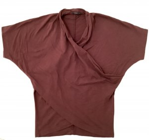 COS Sweat Shirt bordeaux-brown red