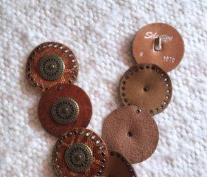 Stylischer Leder Hüftgürtel Ledergürtel braun von Vanzetti Gr. M Neu