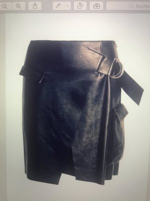 Lala Berlin Leather Skirt black leather