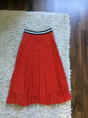 Set Pleated Skirt multicolored polyester