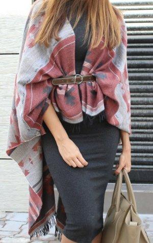 stylischer Poncho Kimono