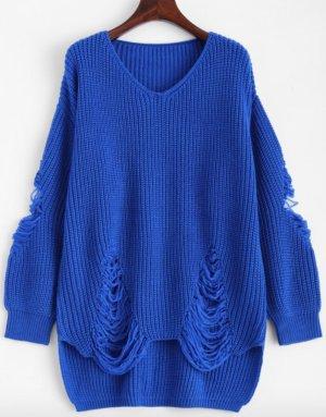 Stylischer Pullover im Used-Look