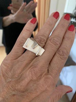Stylischer Ring in 925 Sterling Silber