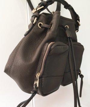 Stylischer Rucksack Khaki von Zara Top Zustand