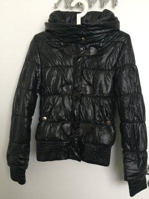 Stylischer schwarze Jacke,S/36, Blogger, Winter