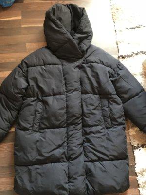 Stylischer schwarzer oversized Wintermantel von H&M, Neu!