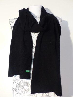 stylischer Strick Schal in schwarz von Benetton