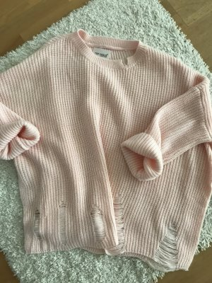 Jersey holgados rosa claro-rosa