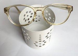 Gafas amarillo claro-crema Material sintético