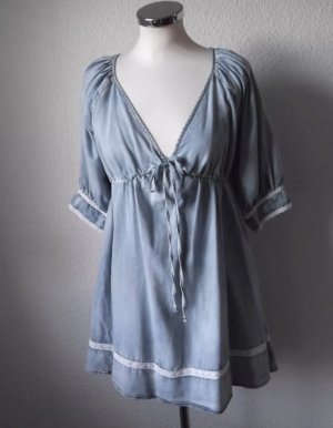 Gina Tricot Denim Dress light blue