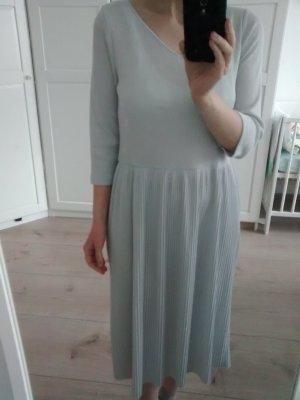 stylisches Kleid plissiert lurex glitzer von Mango