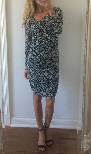 stylisches Kleid von MEXX * schwarz-weiß mit Herzen * Gr. M 38 * NEU!