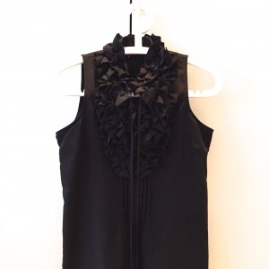 Sinéquanone Flounce Dress black polyester