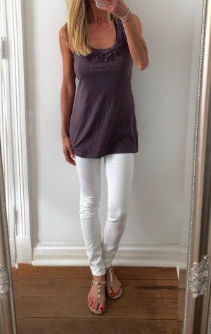 stylisches Longtop von Mavi Jeans mit Nieten * braun * Gr. M 38 * wie neu!