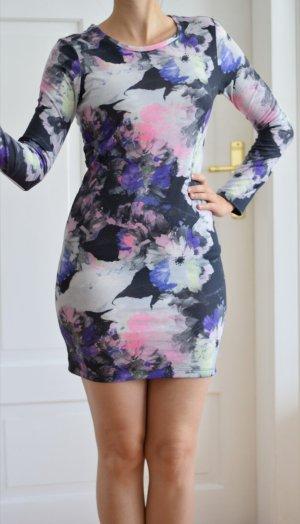 Vila Stretch Dress multicolored