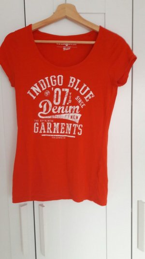 Stylisches rotes Tshirt im Größe M von Tom Tailor