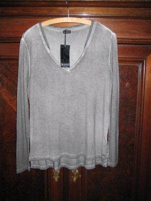 Stylisches Shirt Longsleeve von Laura Scott Gr. 38 coole Waschung neu