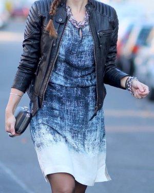 Stylisches Sommerkleid weiß gemustert von Expresso Fashion Gr. 34