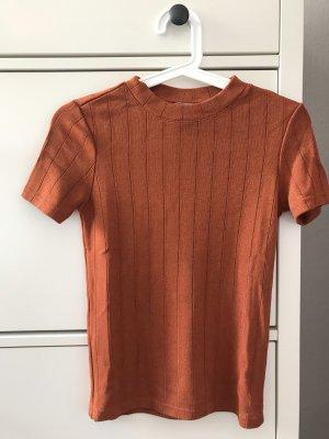 Pimkie Gebreid shirt donker oranje