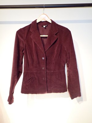 Boyfriend Blazer bordeaux cotton