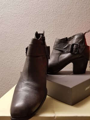 Ankle Boots grey leather