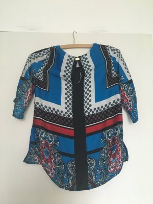 Mango Camicetta a blusa blu-rosso mattone