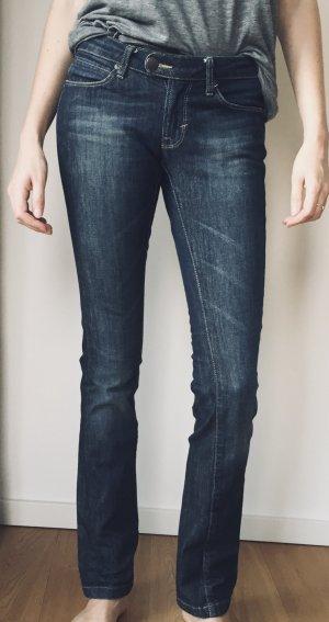 DKNY Jeans Jeans a gamba dritta blu Cotone