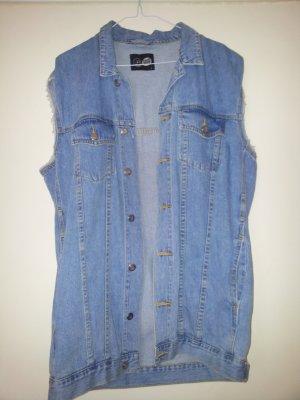 Stylishe Oversize Jeansweste
