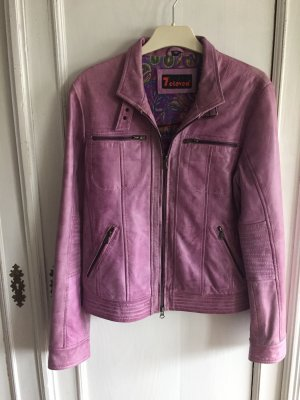 7 Eleven Leather Jacket lilac-pink