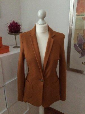 Rich & Royal Blazer stile Boyfriend arancione scuro-cognac Cotone