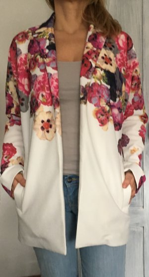 Stylisher Frühlingsmantel mit Blumenprint von ONLY. Größe S!