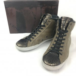 Crime High Top Sneaker multicolored leather