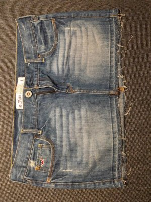 Stylisher Jeans Minirock Hollister Used Look Size 5