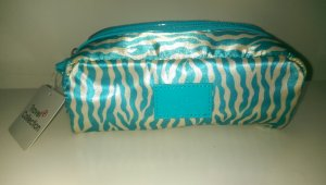 Luggage cream-light blue