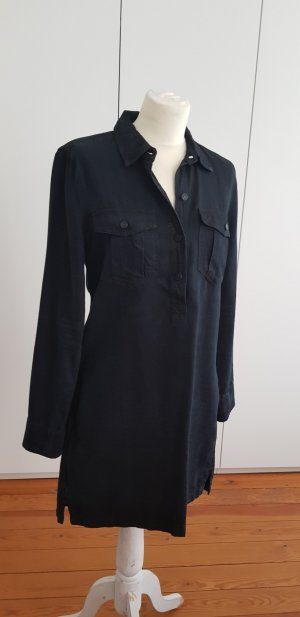 Mango Jeansjurk donkerblauw Textielvezel