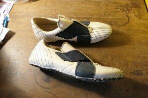 Sneakers zwart-wit Leer