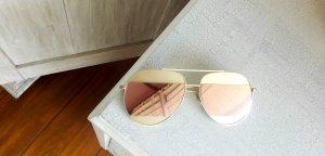 Gafas Retro color oro-rosa