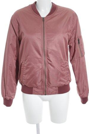 Subdued Bomberjacke rosa-rostrot sportlicher Stil