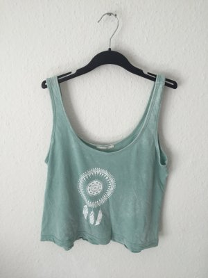 Subdued cropped Top Mint