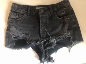 Subdued Pantaloncino di jeans grigio scuro-grigio