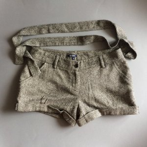 Subdued Grey Wool Shorts
