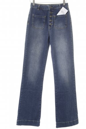 Subdued High Waist Jeans blau Casual-Look